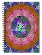 Wonderful Rose Petal Art Spiral Notebook