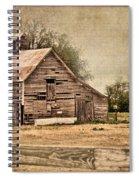 Wood Barn Spiral Notebook