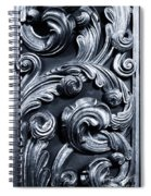 Wood Carving Patterns Spiral Notebook