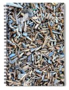 Wood Chips Spiral Notebook