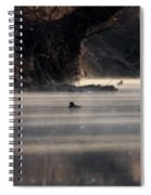 Wood Duck - On The Scenic Sucarnoochee River Spiral Notebook