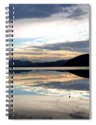 Wood Lake Mirror Image Spiral Notebook