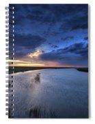 Wood River Saskatchewan Canada Spiral Notebook