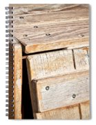 Wooden Crate Spiral Notebook