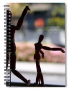 Wooden Puppet Spiral Notebook