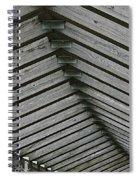 Wooden Ribs Spiral Notebook