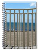 Woodlawn Beach State Park Through Playground Equipment  Spiral Notebook