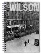 Woodrow Wilson In Paris Spiral Notebook