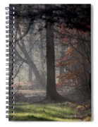 Woods - Dirt Road Photo - The Quiet Place Spiral Notebook
