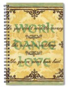 Work Dance Love Spiral Notebook