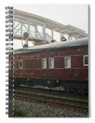 Work Train Spiral Notebook