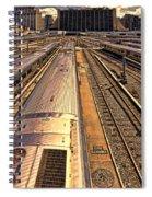 Workin' On The Railroad Spiral Notebook