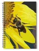 Working Bee Spiral Notebook