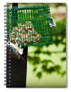 Working For Your Lunch Spiral Notebook