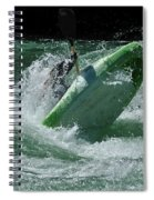 Working The Rapids Spiral Notebook