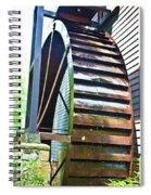 Working Wheel Spiral Notebook