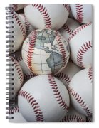 World Baseball Spiral Notebook