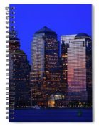 World Financial Center New York Spiral Notebook