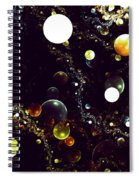 World Of Bubbles Spiral Notebook
