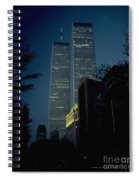 World Trade Center At Dusk Spiral Notebook