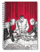 World War II: Cartoon Spiral Notebook
