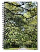 Wormsloe Plantation Entrance Spiral Notebook