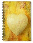 Worn Heart Spiral Notebook