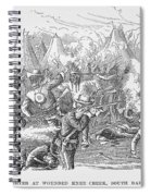 Wounded Knee, 1890 Spiral Notebook