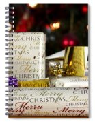 Wrapped Gifts With Tags Spiral Notebook