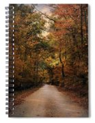 Wrapped In Autumn Spiral Notebook