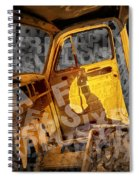 Wreck On The Information Highway Spiral Notebook
