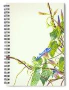 Wren And Damselfly Spiral Notebook
