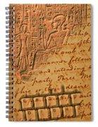 Writing Spiral Notebook