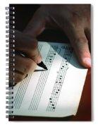 Writing Music Spiral Notebook
