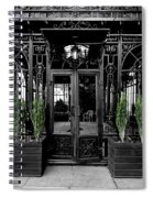 Wrought With Winter Spiral Notebook