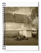 Wye Mill - Sepia Spiral Notebook