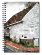 Wye Mill - Water Color Effect Spiral Notebook
