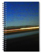 Wyoming I-25 Spiral Notebook