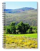 Wyoming Landscape Spiral Notebook
