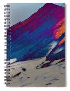 Wyoming Mountains 4 Spiral Notebook