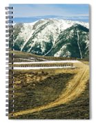 Wyoming Road Spiral Notebook