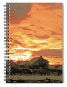 Wyoming Sunrise 1 Spiral Notebook