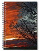 Wyoming Sunrise 2 Spiral Notebook