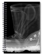 X-ray Of A Childs Light-up Boot Spiral Notebook