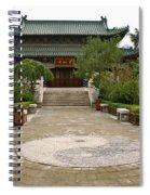 Xi'an Temple Garden Spiral Notebook