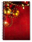 Xmas Frame Spiral Notebook
