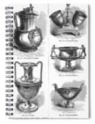 Yachting Trophies, 1871 Spiral Notebook