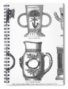 Yachting Trophy, 1880 Spiral Notebook