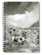 Yaks In The Himalaya Spiral Notebook