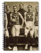 Yale Basketball Team, 1901 Spiral Notebook